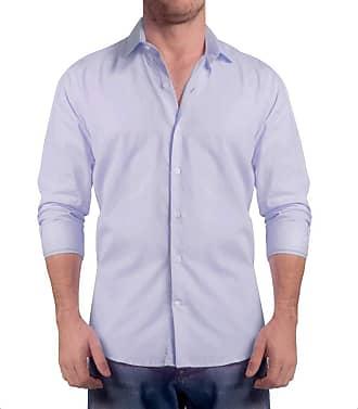 Sergio K. Camisa Light Twill Azul Claro