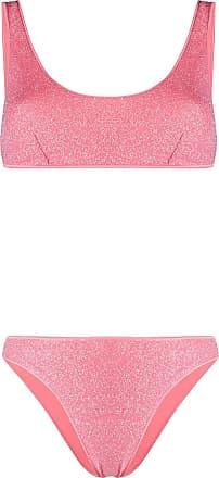 Oséree Biquíni com aplicação de brilho - Rosa