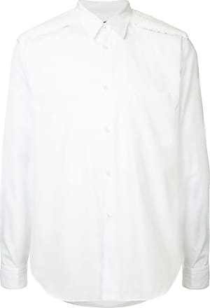 Comme Des Garçons long-sleeve fitted shirt - White