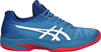 Asics Solution Speed FF Clay Tennis Shoes - 46 Blue