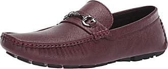 Guess Mens Adlers Driving Style Loafer Burgundy 9 M US