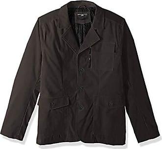 Urban Republic Mens Boys Trendy Pu Suede Jacket, Gray, S