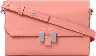 Maison Héroïne Handtasche Damen, Lilia Tablet Mini, Coral Crush