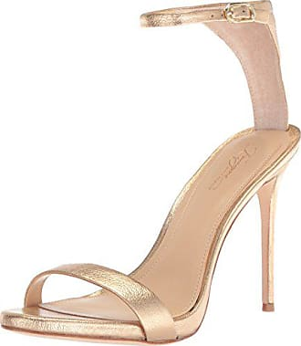 Imagine Vince Camuto Womens DACIA2 Heeled Sandal, Soft Gold, 10 Medium US