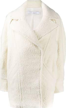 Iro oversized concealed coat - NEUTRALS