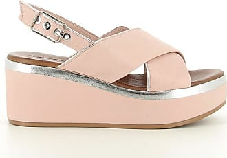 Inuovo 8679 Womens Leather Sandal - Blush/Silver UK 5