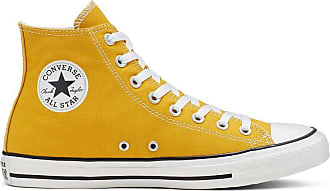 chaussure converse jaune moutarde