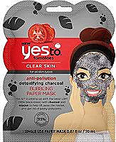 Yes To Tomatoes Charcoal Bubbling Paper Mask
