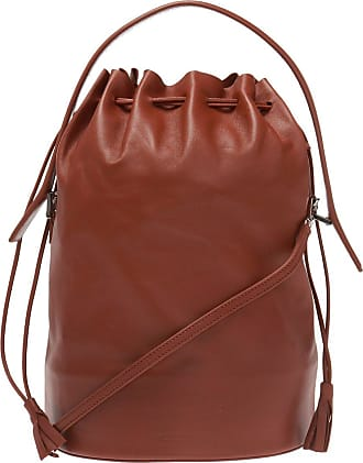 Jil Sander Logo Shoulder Bag Womens Brown