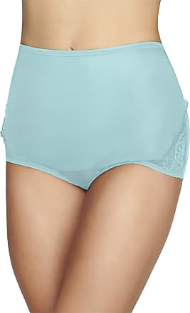 Vanity Fair Womens Perfectly Yours Lace Nouveau Brief Panty Womens Perfectly Yours Lace Nouveau Brief Panty 13001 Briefs - Green