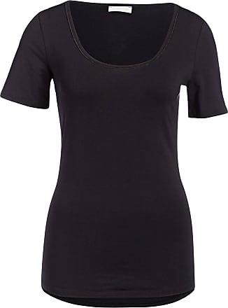 Hanro T-Shirt COTTON SENSATION - SCHWARZ