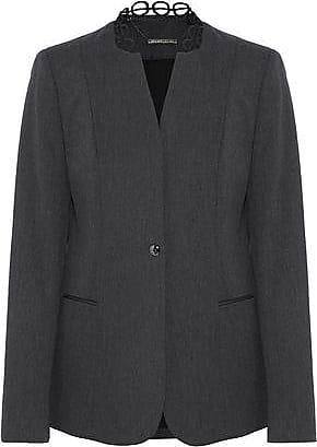 Elie Tahari Elie Tahari Woman Tori Cotton-blend Twill Blazer Charcoal Size 0