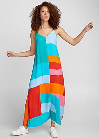 Icone Mixed pattern maxi dress