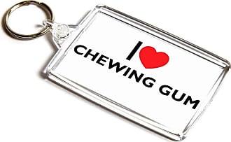 ILoveGifts KEYRING - I Love Chewing Gum - Novelty Food & Drink Gift