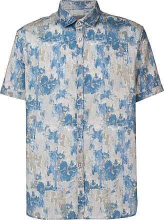 John Varvatos printed shirt - Grey