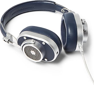 Master & Dynamic Mh40 Leather Over-ear Headphones - Navy