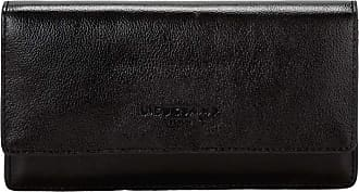 Liebeskind Womens Glossy SLG - Slam Wallet Large Billfold, Black, 2x10x19 Centimeters (B x H x T)