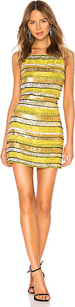 X by NBD Sunny Embellished Mini Dress in Yellow