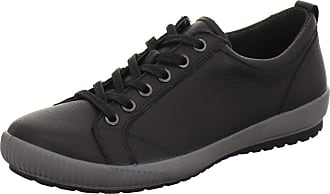 Legero Womens Tanaro Sneaker, Schwarz 0100, 4.5 UK