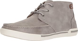 Unlisted by Kenneth Cole Mens Drop UR Anchor Boat Shoe, Grey Nubuck, 9.5 UK