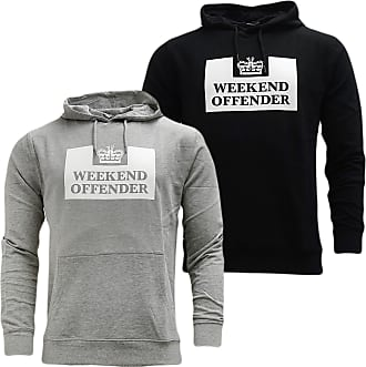 Weekend Offender Mens Mens HM Service Classic Hoody in Navy - M