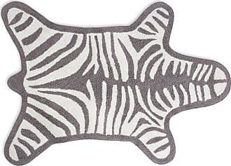 Jonathan Adler Zebra Bath Mat - Gray