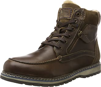 s.Oliver Mens 16214 Combat Boots, Brown (Cigar), 8 UK 85fe2f669d