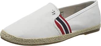 Tom Tailor Womens 8092003 Loafer, White 00002, 6.5 UK