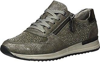 Remonte Damen R7008 Sneakers, Grau (Steel Asche Altsilber   42), a0c64b1080
