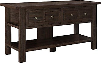 Dorel Home Products Ameriwood Home Pillars Apothecary TV Stand for TVs up to 55, Cherry