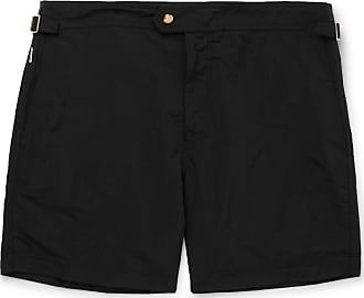 Tom Ford Slim-fit Mid-length Swim Shorts - Black
