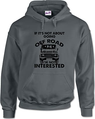 Bang Tidy Clothing Mens Hooded Sweatshirt Gym Hoodie If Its Not Off Roading Sport Hoody Pullover Dark Grey