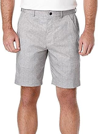 PGA TOUR Mens All Sport Performance Gear Flat Front Heather Printed Short, Quiet Shade, 40