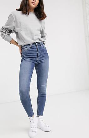 Weekday BODY HIGH - Jeans Skinny Fit - black dark