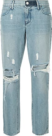 Rta distressed tapered jeans - Blue