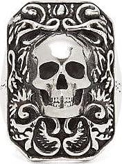 Alexander McQueen Alexander Mcqueen - Skull Ring - Mens - Silver