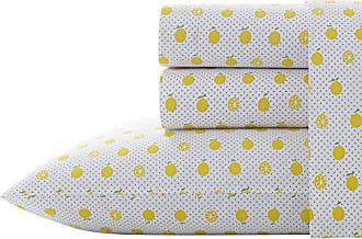 Revman International Poppy & Fritz Lemons Sheet Set, Full, Bright Yellow