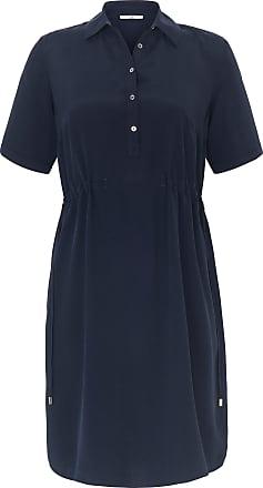 Emilia Lay Summer dress shirt collar Emilia Lay blue