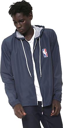 NBA Jaqueta Corta Vento NBA Logo Azul-marinho