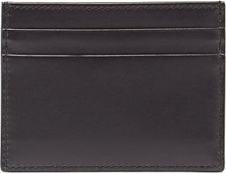 Dolce & Gabbana Logo-print Leather Cardholder - Mens - Black
