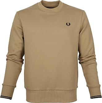 Fred Perry Sweater Logo Stone