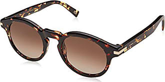 Marc Jacobs Mens Marc184s Round Sunglasses, CRY HVNA, 49 mm