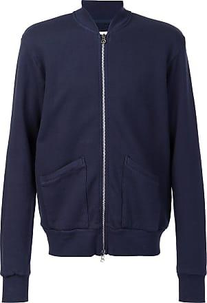 321 patch pockets bomber jacket - Blue