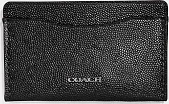 Coach Small Card Case in Black