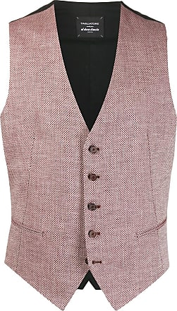 Tagliatore Brian dotted pattern waistcoat jacket - Red