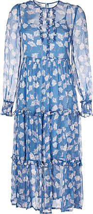 Baum Und Pferdgarten Vestido midi floral - Azul