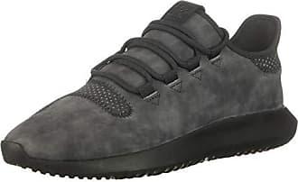 adidas Originals Womens Tubular Shadow Running Shoe, Carbon/Trace Maroon, 7 M US