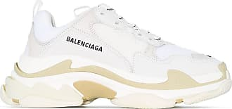 Balenciaga Triple S sneakers in white leather