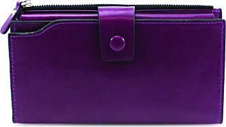 Craze London PU Large Capacity Purses for Women Ladies Long Cell Phone Wallet with Zipper Pocket and Multiple Card Slots,Durable Card Holder Organizer Women Purse
