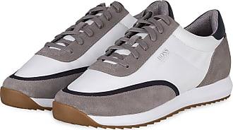 BOSS Sneaker SONIC RUNN - WEISS/ GRAU/ SCHWARZ